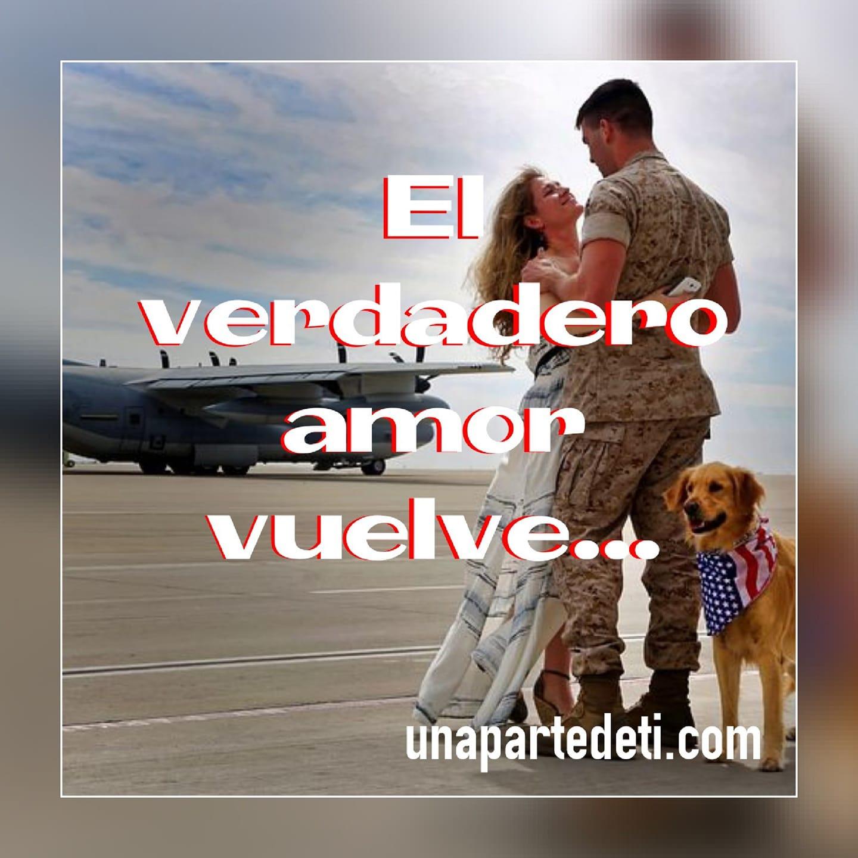 El verdadero amor vuelve...